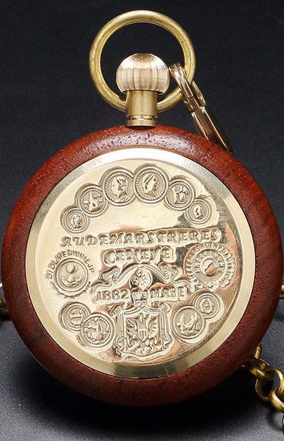 Часы карманные механические в дереве, Лучшая цена!