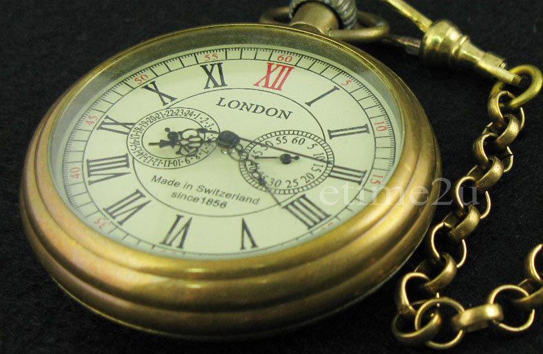 Часы карманные механические London, Лучшая цена!