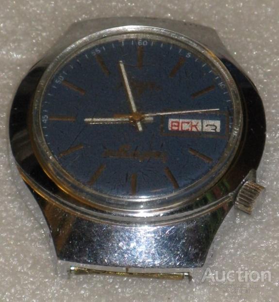 Луч кварц сделано в СССР 3055 часы электронно-механические мужские