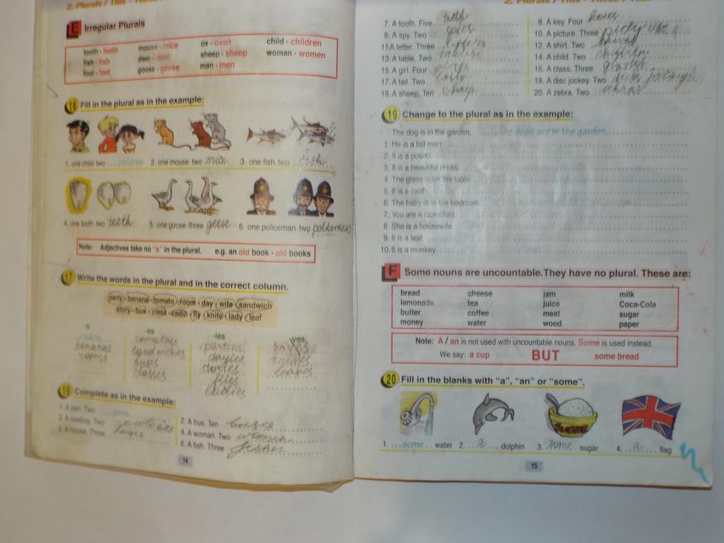 гдз по английскому языку класс раунд ап 3
