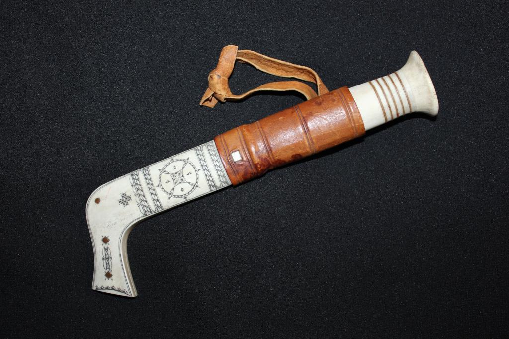 Саамский (русский) нож. Лапландия. Редкость!