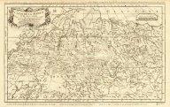 Жак-Никола Беллэн Карта Сибири, 1758 год