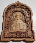 Резная деревянная Икона Господь Вседержитель