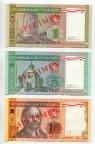 1,5,10,20,50,100 Рублей 1993 года  КОМПЛЕКТ ОБРАЗЦОВ  Белоруссия / Беларусь UNC RRRR