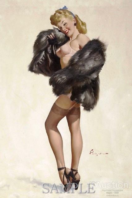 Картина – Пин-ап – Фритс Уиллис – купить с доставкой по России. Размещена  2016-03-16 13:25 | 640x427