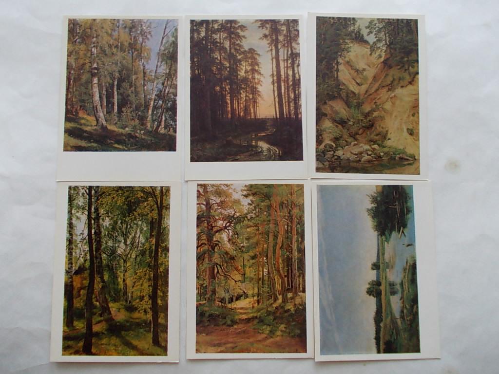 Набор открыток шишкин 48