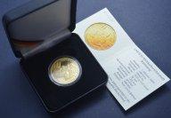 100 евро 2004 год. Всемирное наследие ЮНЕСКО. г. Бамберг. Германия. Золото 999.9, 15.55 грамм