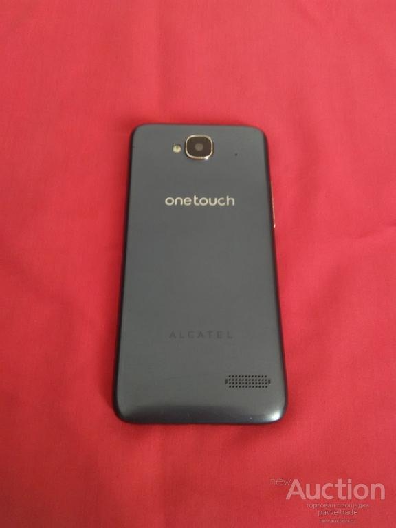 Сенсорный телефон ALCATEL ONETOUCH 6012X.Не видит SIM, на запчасти или в ремонт.