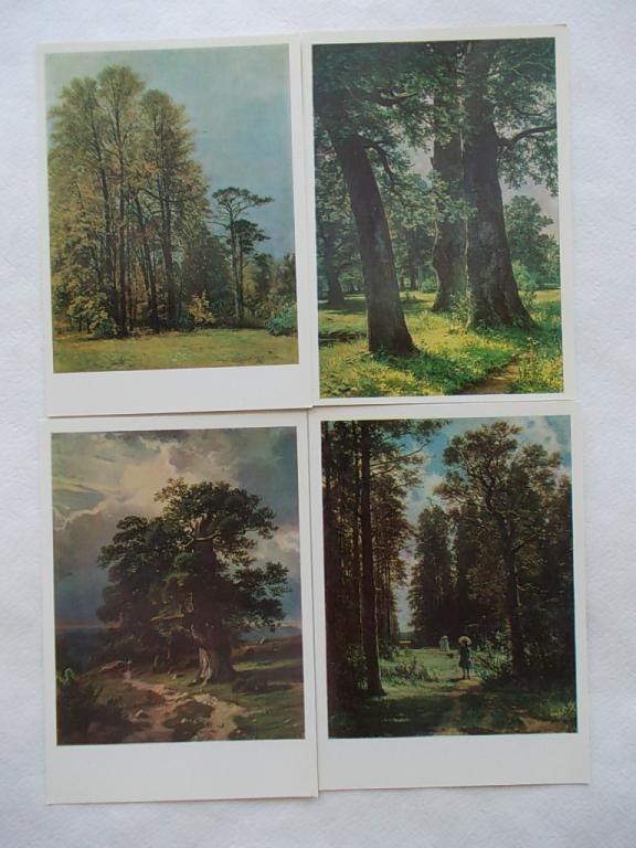 Набор открыток шишкин 76