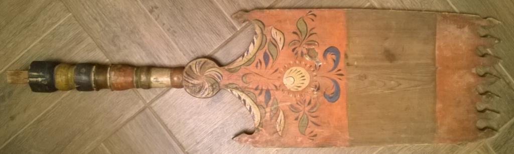 Прялка расписная. 19 век.