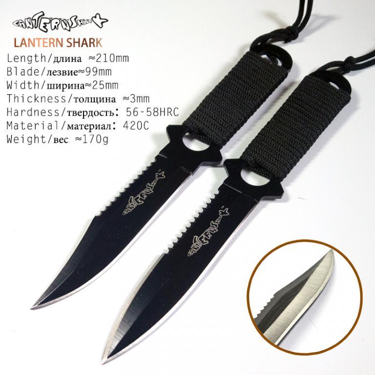 Полевой Нож Выживания/Десантный Нож/Нож из Нержавеющей Стали для Дайвинга.