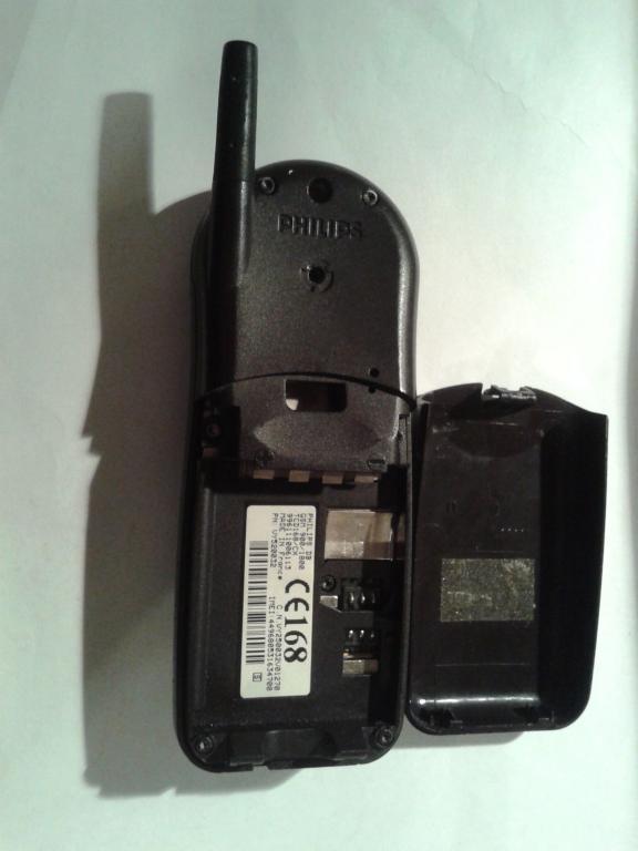 старый мобильный телефон PHILIPS... произв. Франция