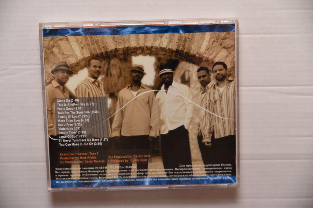 Take 6 - Feels good CD
