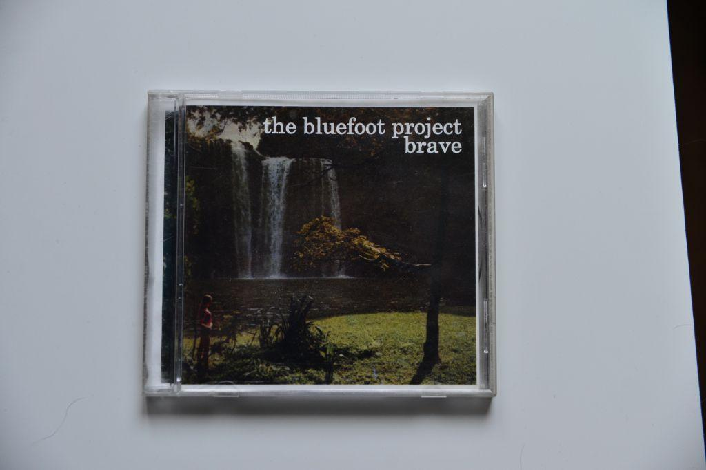 The Bluefoot Project - Brave - Downtempo CD