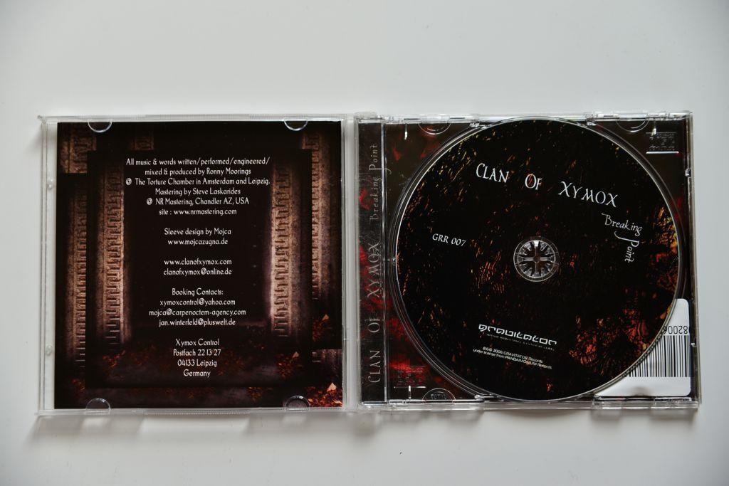 Clan Of Xymox - Breaking Point CD