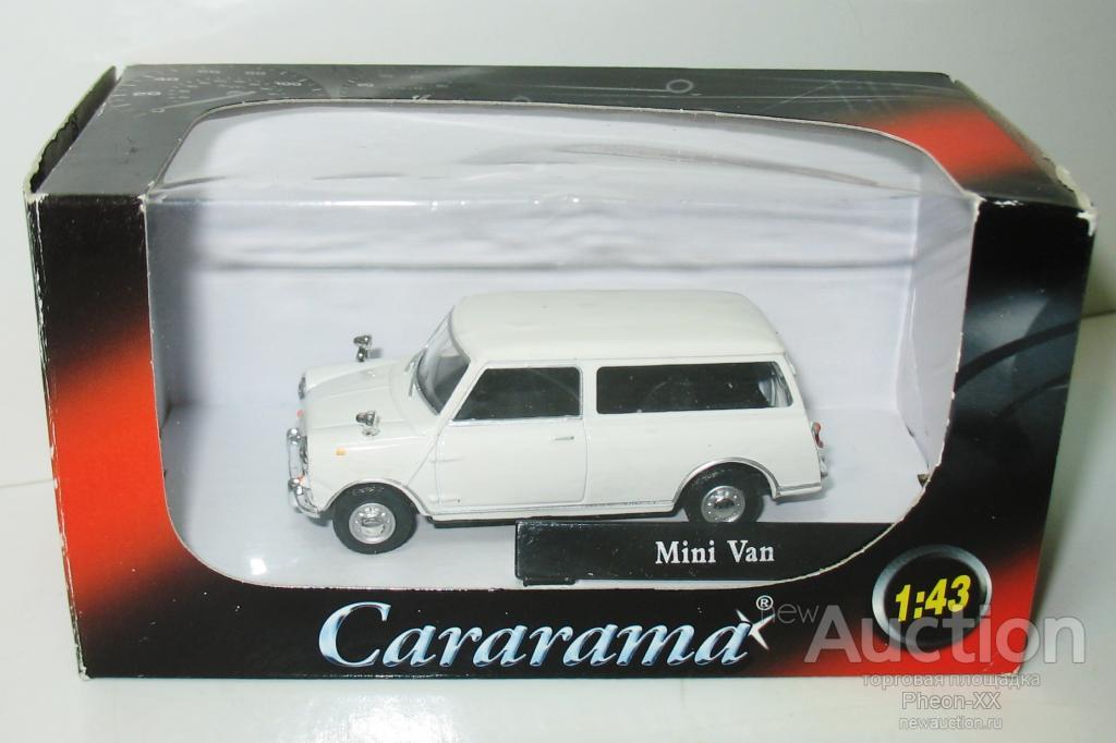 143 Mini Cooper Van Cararama