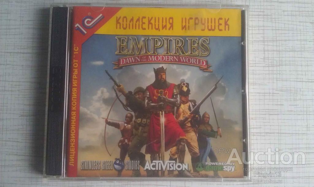 "PC-игра ""Empires. Dawn of the Modern World"""