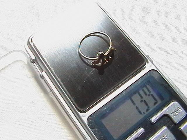 Кольцо. Серебро 875 пробы. Клеймо ''звезда''. Вес изделия 1,39 грамм.