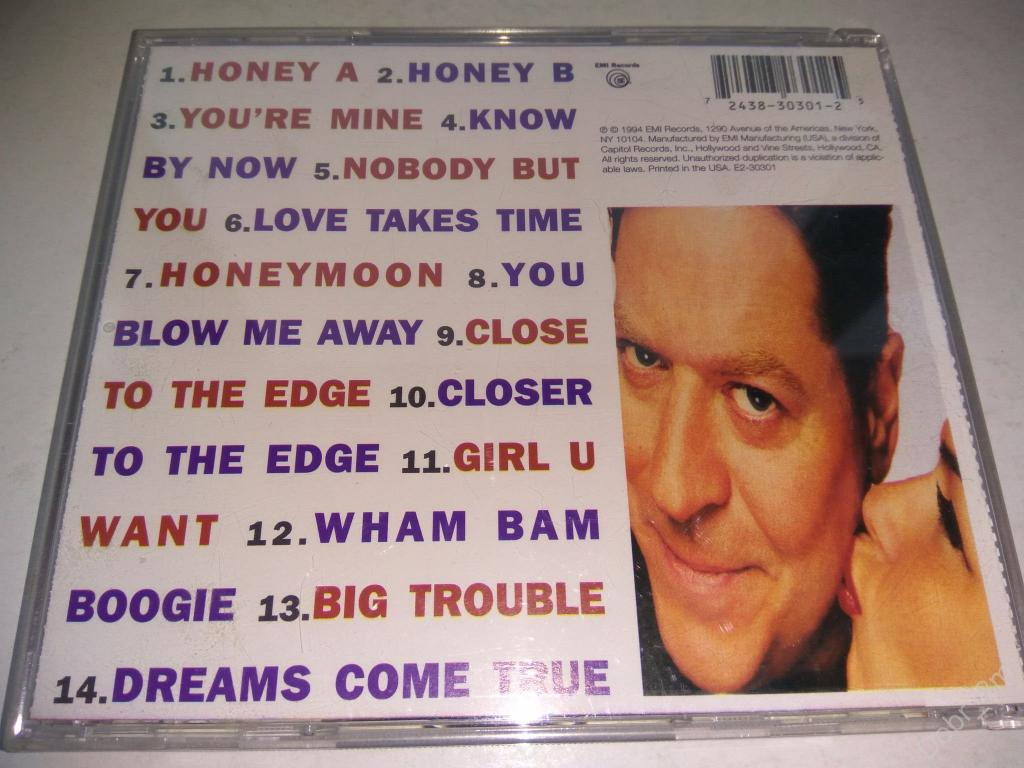ROBERT PALMER Honey 1994 made in USA 7243 8 30301 2 5 no ifpi 1st press (отл.состояние)