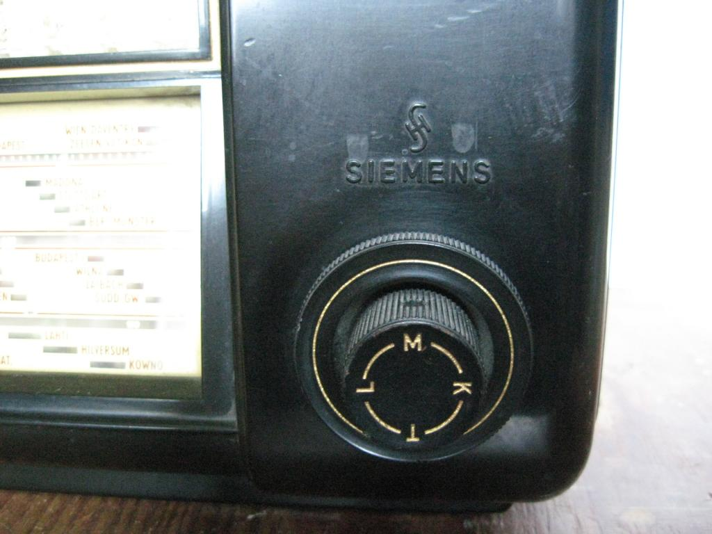 """Старинный ламповый радиоприёмник """"SIEMENS & HALSKE"""", Германия. ДВ, СВ, КВ диапазонов."""