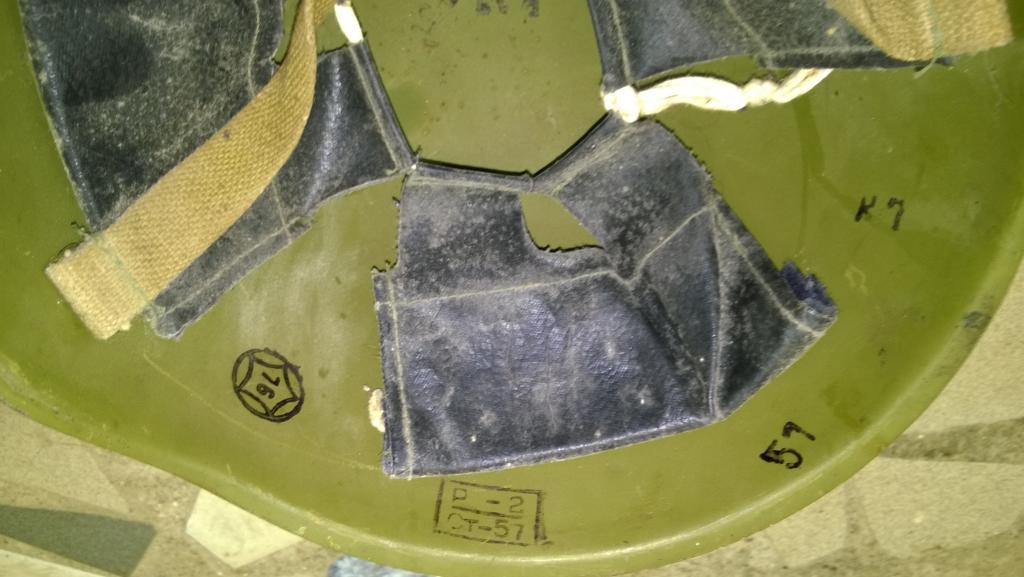 Стальной шлем. Каска Вооруженных Сил СА и ВМФ.