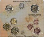 РЕДКОСТЬ !! ИТАЛИЯ  официальный  набор евромонет 2004 года   БЛИСТЕР