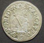Австрия,Карл II Франц,грошен (3 крейцера) около 1590 года