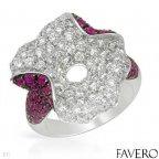 Кольцо Favero (Италия) 3.54кт Оригинал, новое