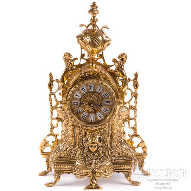 Часы каминные ЛЬВЫ AL-85-7167