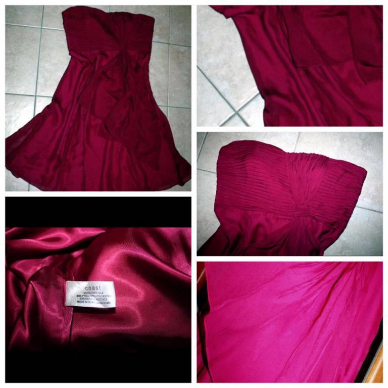 Роскошное платье COAST новое 100% шелк