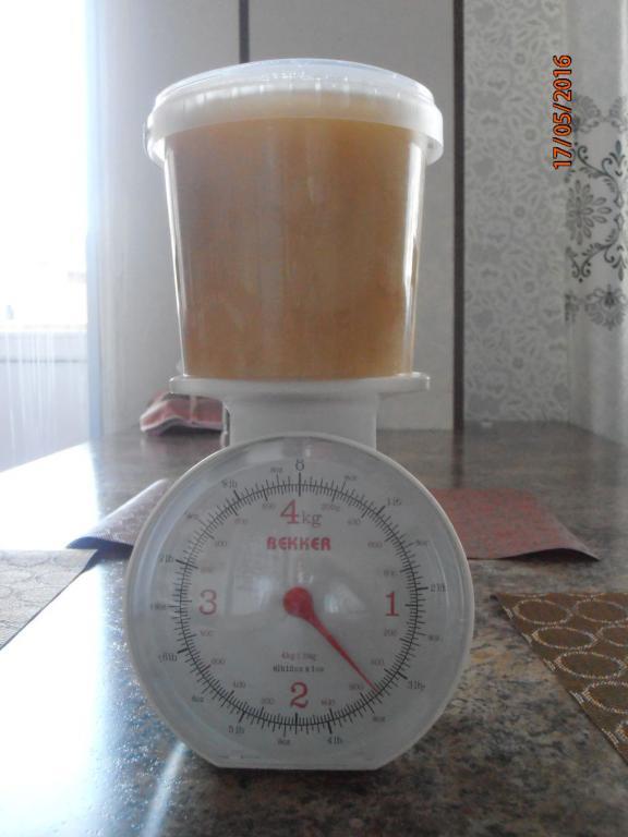 Мёд ЛИПОВЫЙ из Уссурийской тайги 3 литра (около 4,5 кг)