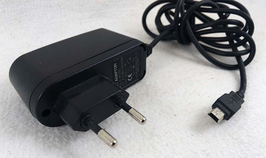 Зарядное устройство мини ЮСБ mini USB 5V 1.2A