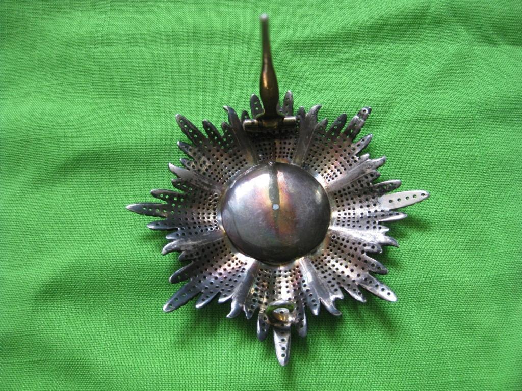 Звезда королевского ордена Гвельфов. Ганновер.Германия. 19 век!!!