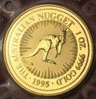 Золотая монета 100 долларов
