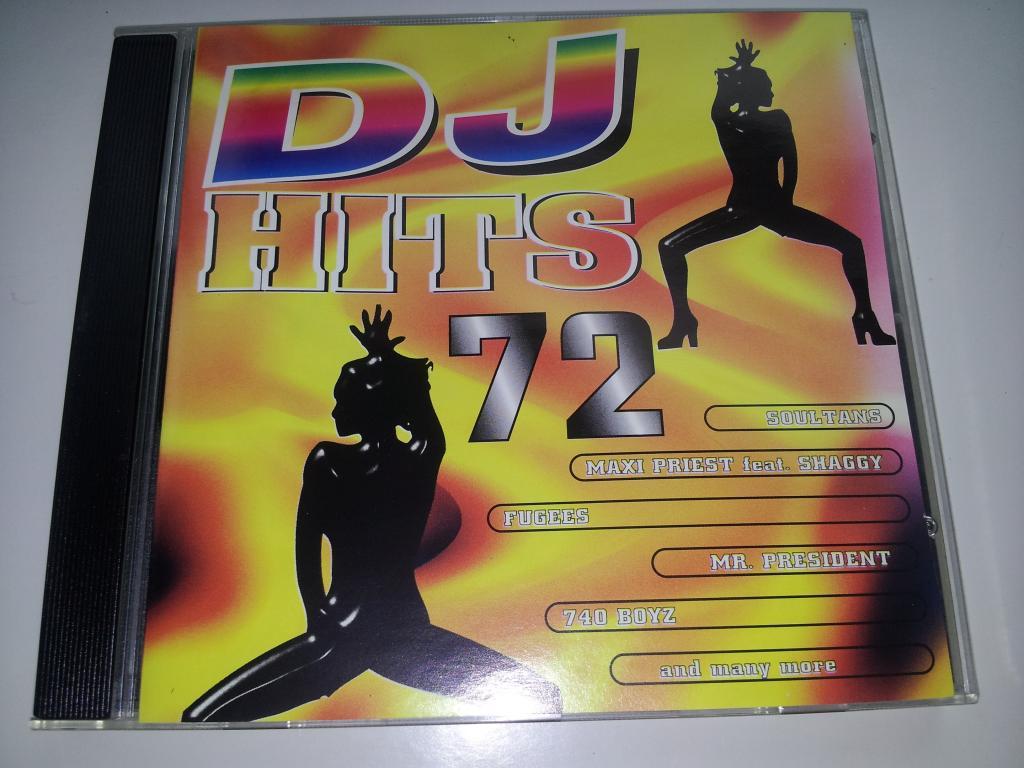 DJ HITS vol.72 (Snap! Livin' Joy, DJ Dado, Cappella, Maxi Priest, Dr Alban, Phantomas)