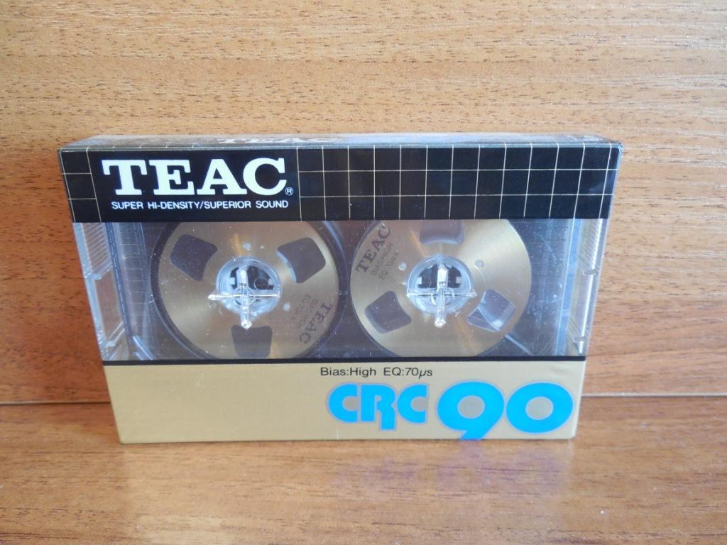 Кассета TEAC CRC 90 metal reel