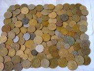 Ранние советы 112шт! С 1924-1958гг! Есть интересные монеты! Не перебирались! С рубля!