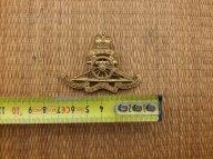 Кокарда знак на фуражку Королевкого Артиллерийского полка