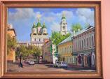 Картина масло.Астрахань.2007