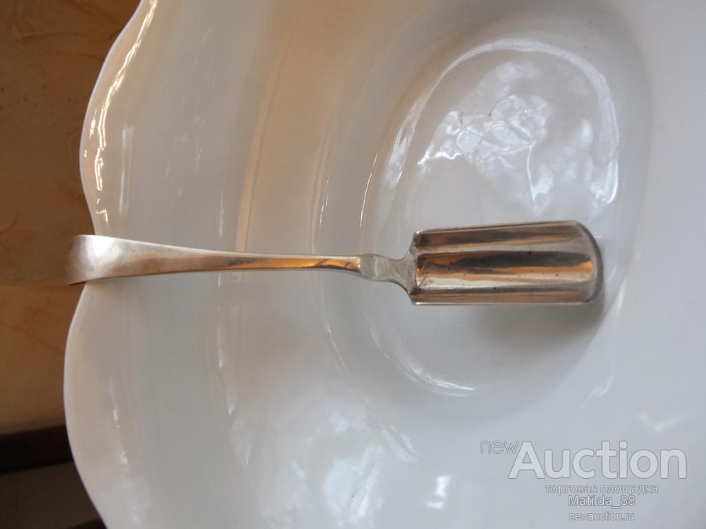 Лопатка / ложка для икры, серебро