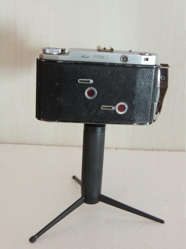 Старый Фотоаппарат Советский  Москва 5 гармошка рабочий на Триноге С Рубля