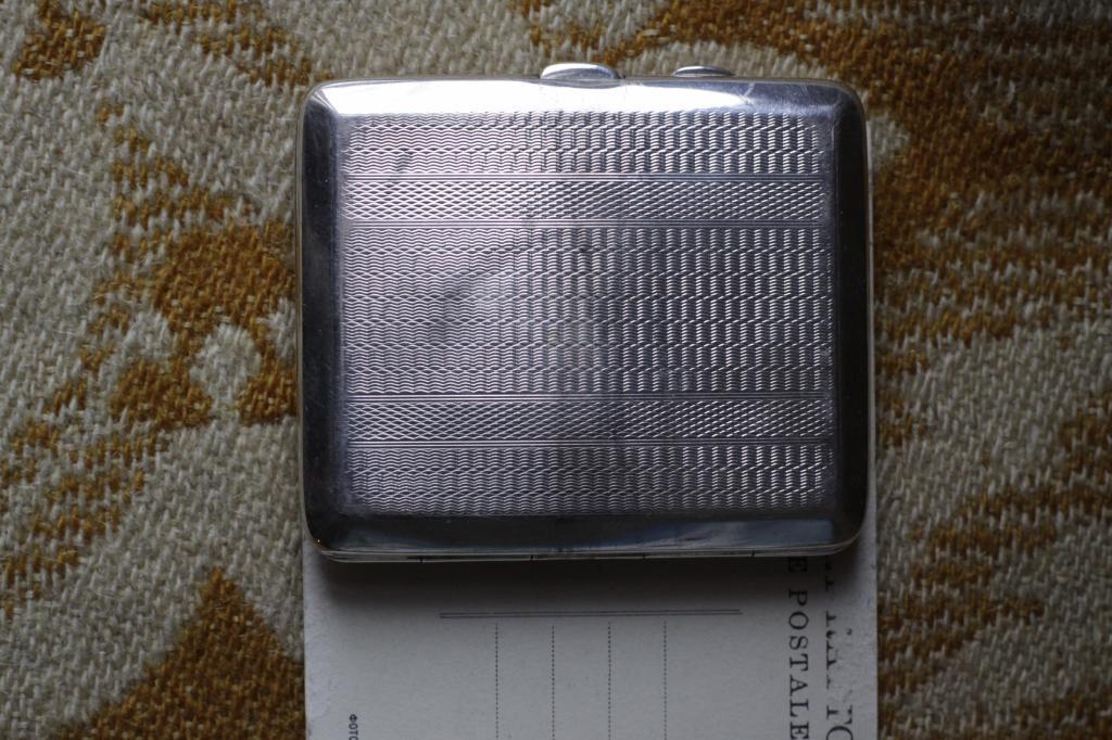 Коллекция портсигаров Англия.серебро