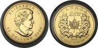 Канада 50 долларов 2004, UNC, золото (999) - 31,1 гр