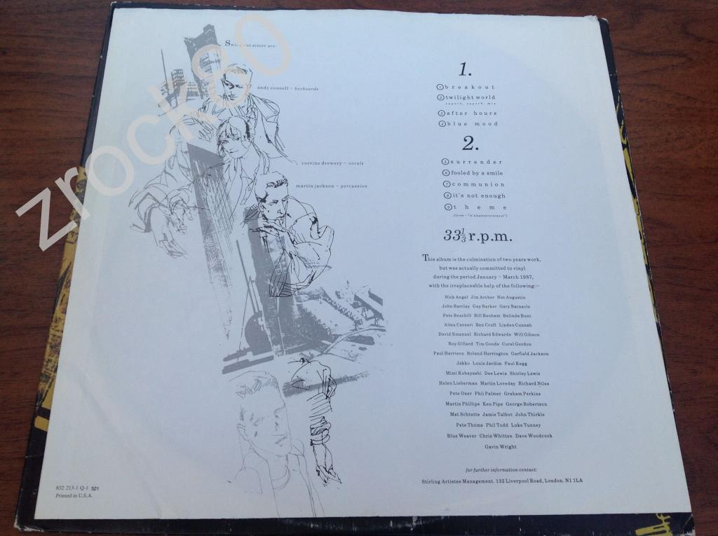 Swing Out Sister – It's Better To Travel (LP US)