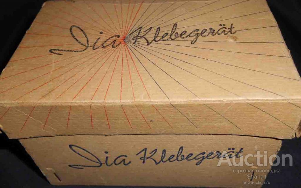 Винтажный прибор. Устройство. Dia Klebergerät. 1950-е годы. Германия.