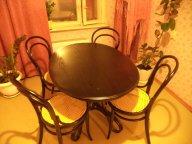 Комплект для столовой стол и стулья 19 век