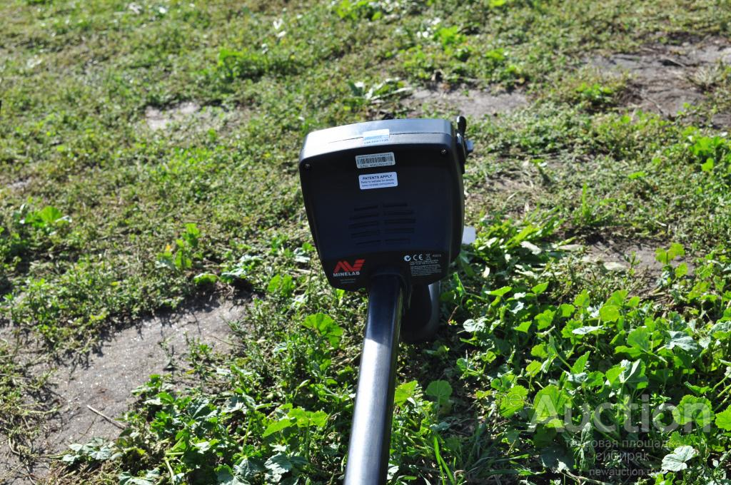 Металлоискатель Minelab E-Trac. Повторные торги.