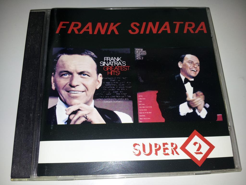 FRANK SINATRA Frank Sinatra's Greatest Hits Vol.1 -1967/ Vol.2 1972 Грамзапись 1995