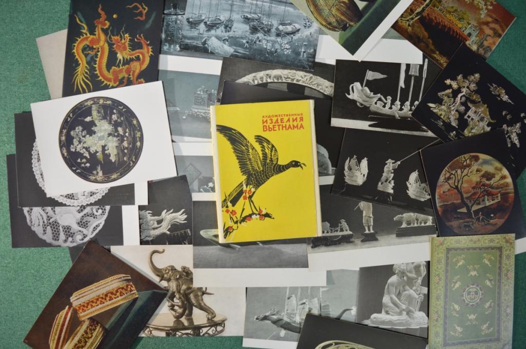 Конструктором, набор открыток вьетнам