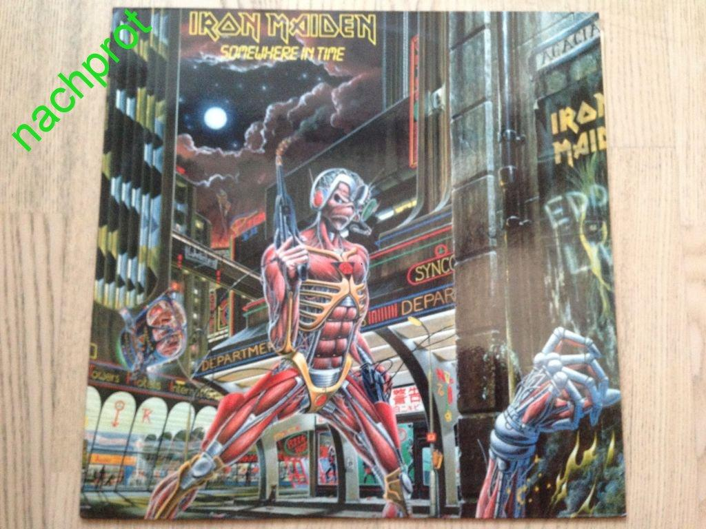 Iron Maiden Somewhere In Time 1986 Gala
